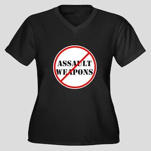 No assault weapons, gun control Plus Size T-Shirt