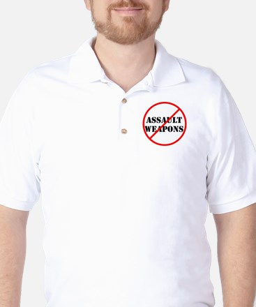 No assault weapons, gun control Golf Shirt