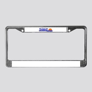 Its Better in Copacabana License Plate Frame