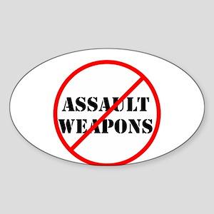 No assault weapons, gun control Sticker