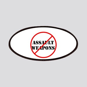 No assault weapons, gun control Patch