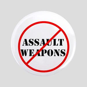 No assault weapons, gun control Button