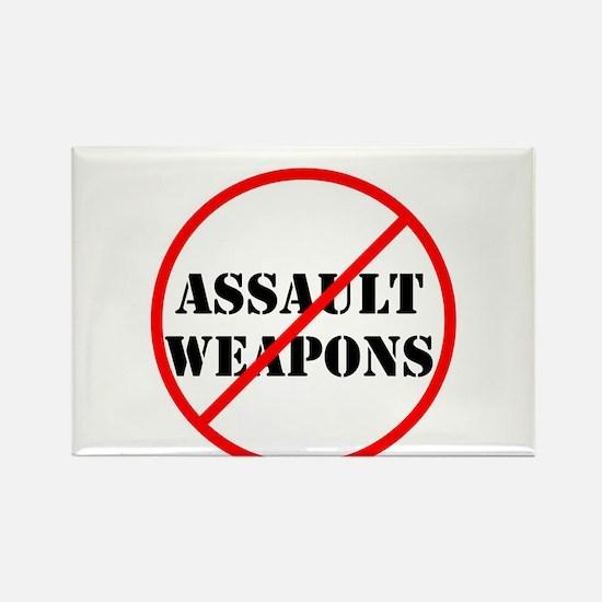 No assault weapons, gun control Magnets