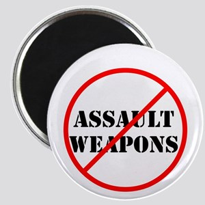 No assault weapons, gun control Magnets