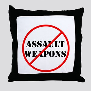 No assault weapons, gun control Throw Pillow