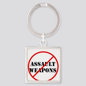 No assault weapons, gun control Keychains