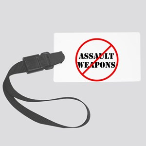 No assault weapons, gun control Luggage Tag