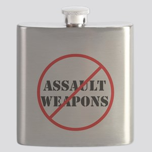 No assault weapons, gun control Flask