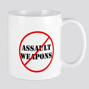 No assault weapons, gun control Mugs