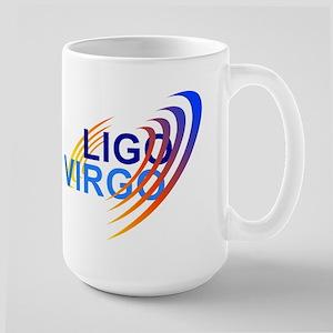 VIRGO/LIGO Collaborationn Logo Large Mug