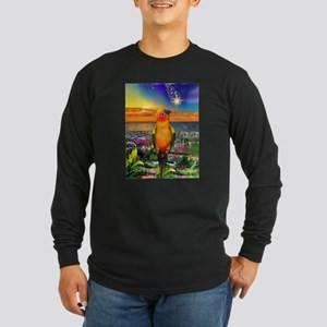 Sun Conure at Sunset Long Sleeve T-Shirt