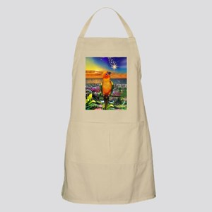Sun Conure at Sunset Apron