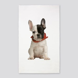 French Bulldog Area Rug