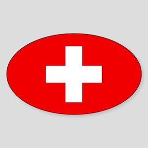 Flag of Switzerland Sticker