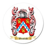 Weisfield Round Car Magnet