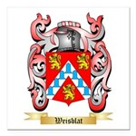 Weisblat Square Car Magnet 3