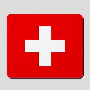 Flag of Switzerland Mousepad