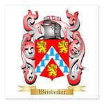 Weisbecker Square Car Magnet 3