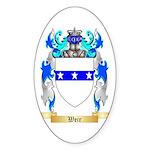 Weir Sticker (Oval 50 pk)