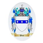 Weir Oval Ornament