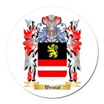 Weintal Round Car Magnet