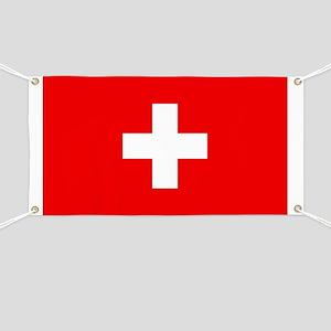 Flag of Switzerland Banner