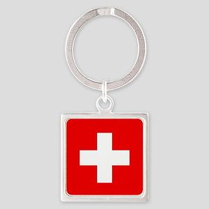Flag of Switzerland Keychains