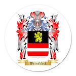 Weinshtock Round Car Magnet