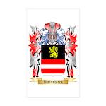 Weinshtock Sticker (Rectangle 50 pk)