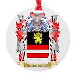 Weinshnabel Round Ornament