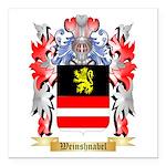 Weinshnabel Square Car Magnet 3