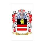 Weinshnabel Sticker (Rectangle 50 pk)