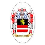 Weinschenker Sticker (Oval 50 pk)