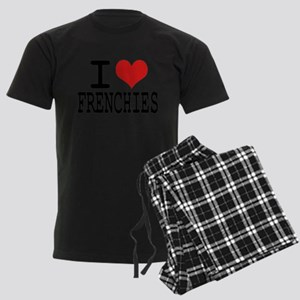 I love Frenchies Men's Dark Pajamas