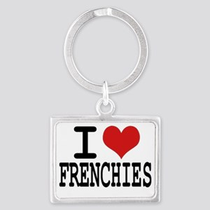 I love Frenchies Keychains