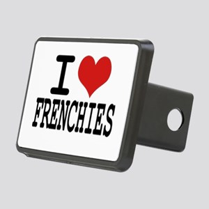 I love Frenchies Rectangular Hitch Cover