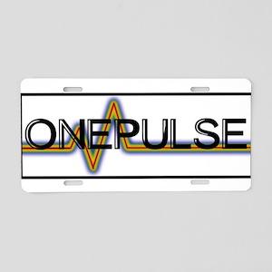 ONE PULSE : ORLANDO Aluminum License Plate