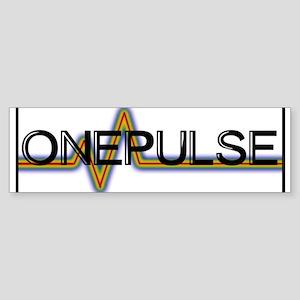 ONE PULSE : ORLANDO Bumper Sticker