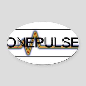 ONE PULSE : ORLANDO Oval Car Magnet