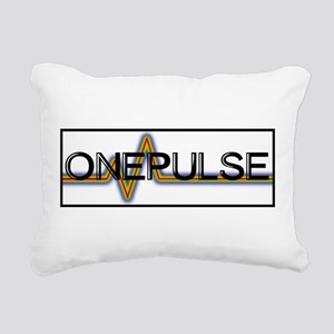 ONE PULSE : ORLANDO Rectangular Canvas Pillow