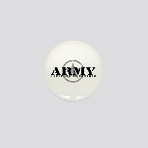 Army - I Support My Brother Mini Button