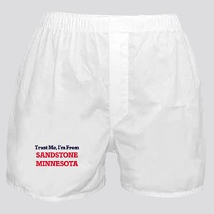 Trust Me, I'm from Sandstone Minnesot Boxer Shorts