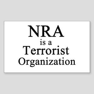 NRA Terrorist Sticker