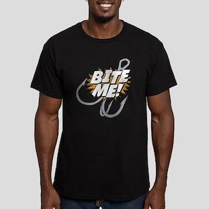 Bite Me Men's Fitted T-Shirt (dark)
