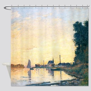 Argenteuil, Late Afternoon - Monet Shower Curtain