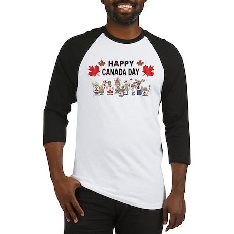 Happy Canada Day Baseball Jersey