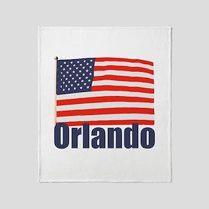 Orlando Throw Blanket