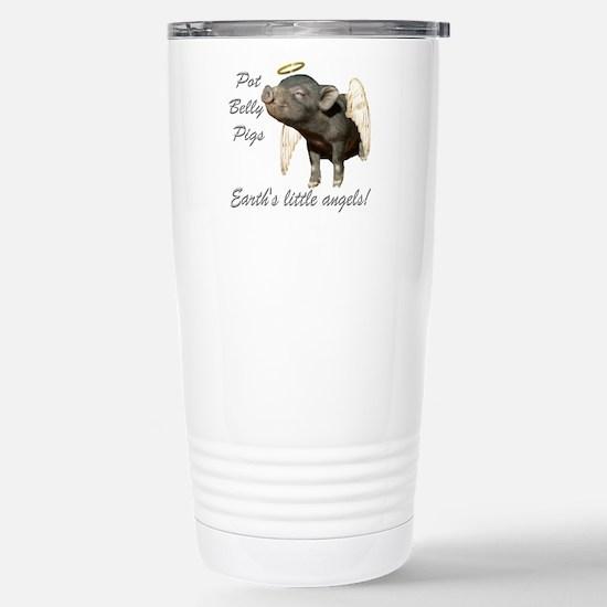 """Pot Belly Pig"" Large Mugs"