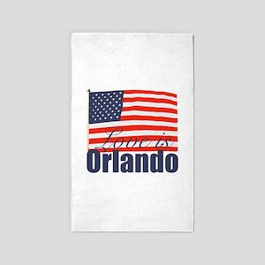 Love is Orlando Area Rug