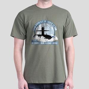 USS Seahorse - SSN 669 Dark T-Shirt